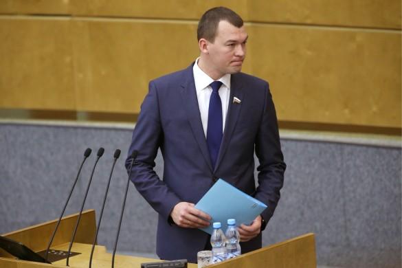 Михаил Дегтярев. Фото: Антон Новодережкин/ТАСС