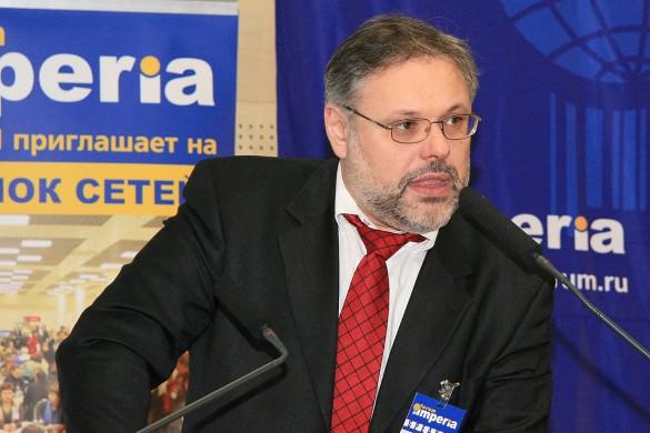 "Михаил Хазин. Фото: wikipedia.org/imperialforum – Компания ""Неокон"""