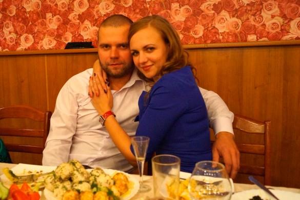 Максим Грибанов с женой. Фото: vk.com