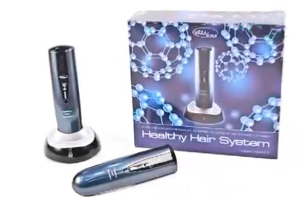 Прибор для ухода за кожей головы Gezatone HS575. Кадр youtube.com