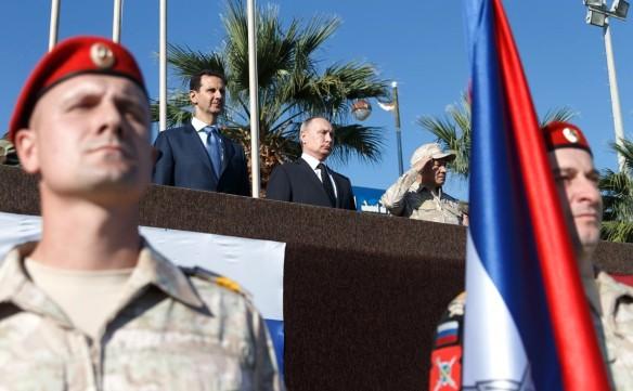 Башар Асад и Владимир Путин. Фото: kremlin.ru