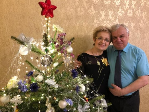 Родители Виталины. Фото: facebook.com/vitalina.romanovskaya