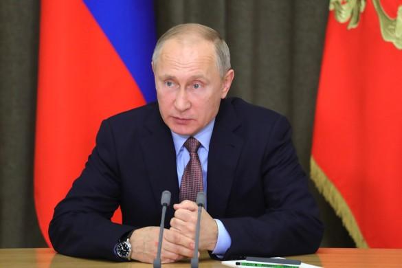 Владимир Путин. Фото: GLOBAL LOOK press/Kremlin Pool/