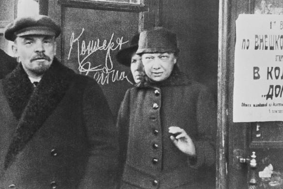 Владимир Ленин и Надежда Крупская. Фото: Фотохроника ТАСС