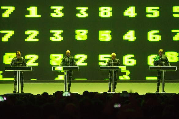 KRAFTWERK. Фото: GLOBAL LOOK press/Sebastian Kahnert