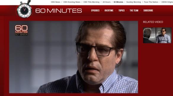 Григорий Родченков. Скриншот cbsnews.com