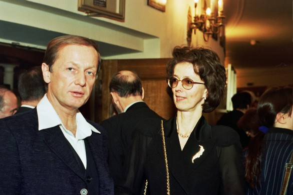Михаил Задорнов с женой. Фото: GLOBAL LOOK press/Anatoly Lomokhov