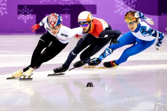 Лим Хе Джун, Шинки Кнегт и Семен Елистратов . Фото: Сергей Бобылев/ТАСС