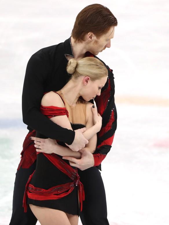 Евгения Тарасова и Владимир Морозов. Фото: Валерий Шарифулин/ТАСС