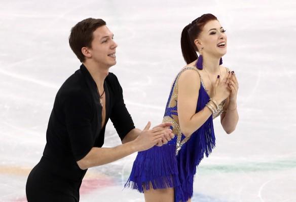 Екатерина Боброва и Дмитрий Соловьев. Фото: Валерий Шарифулин/ТАСС