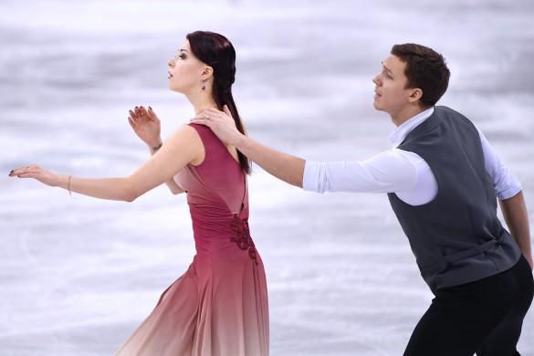 Екатерина Боброва и Дмитрий Соловьёв. Фото: GLOBAL LOOK press