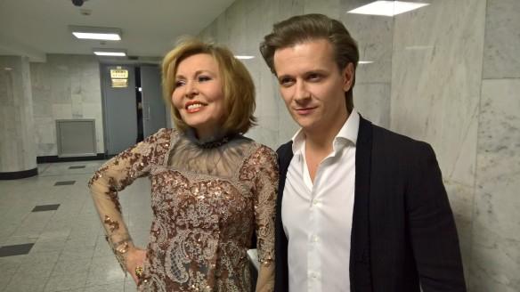 Ольга Кормухина и Глеб Матвейчук. Фото: Dni.Ru/Феликс Грозданов