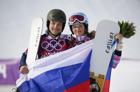Вик Уайлд и Алена Заварзина. Фото:  GLOBAL LOOK press/Troy Wayrynen