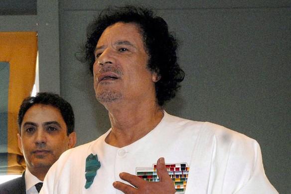 Муаммар Каддафи. Фото: wikipedia.org