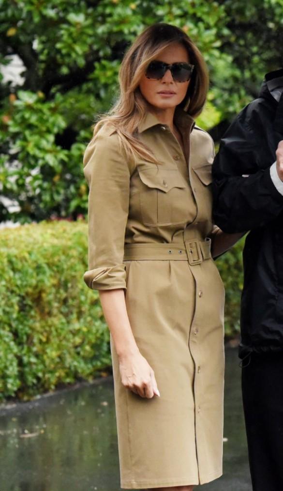 Меланья Трамп. Фото: GLOBAL LOOK press/Olivier Douliery