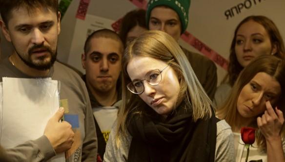 Собчак попросила у украинской столицы разрешение напоездку вКрым