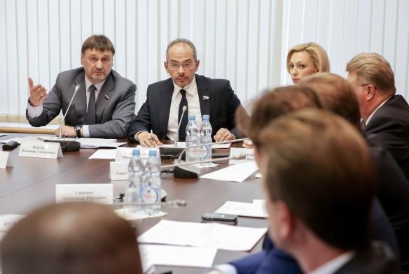Заседание согласительной комиссии. Фото: duma.gov.ru