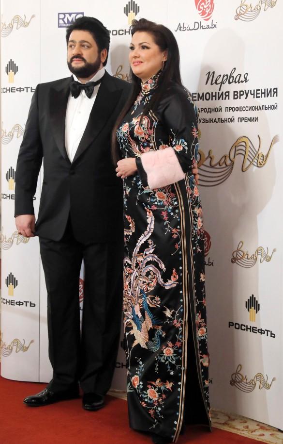 Юсиф Эйвазов и Анна Нетребко. Фото: Артем Геодакян/ТАСС