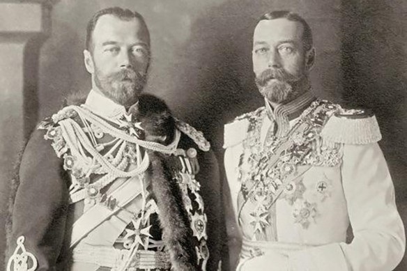 Николай II и Георг V. Фото: wikipedia.org