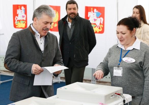 Павел Грудинин. Фото: Александр Щербак/ТАСС