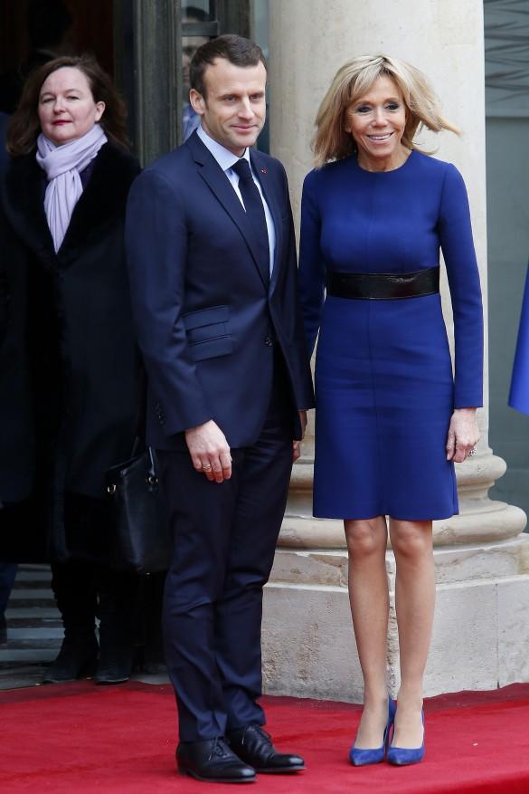 Эмманюэль и Брижит Макрон. Фото: GLOBAL LOOK press/Brigitte Macron