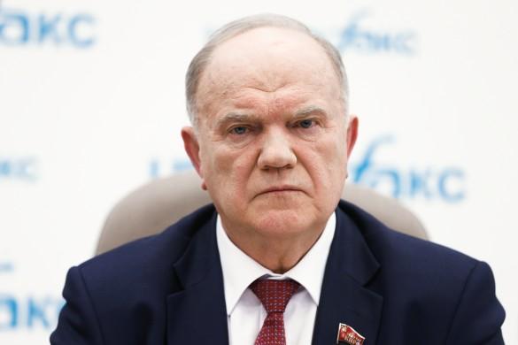 Геннадий Зюганов. Фото: Михаил Терещенко/ТАСС