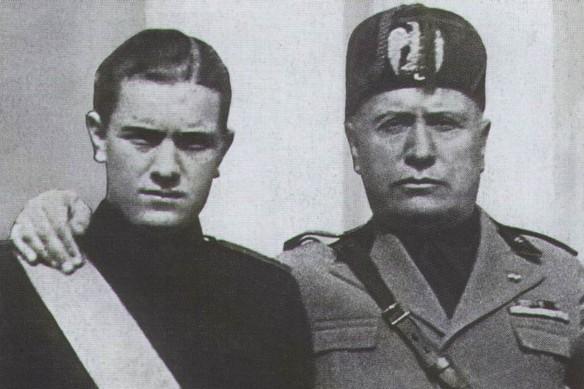 Бруно и Бенито Муссолини. Фото: wikipedia.org