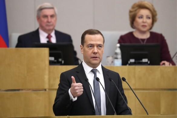 Дмитрий Медведев. Фото: Антон Новодережкин/ТАСС