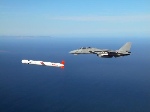 Томагавк и F-14. Фото: wikipedia.org