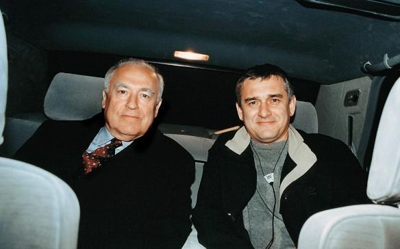 Виктор Черномырдин со старшим сыном Виталием. Фото: wikipedia.org/Александр Стручков