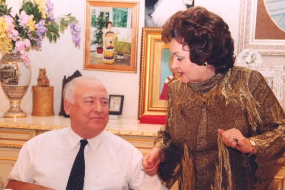 Виктор Степанович и Валентина Федоровна Черномырдины. Фото: wikipedia.org/Александр Стручков