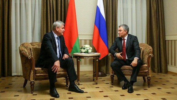 Владимир Андрейченко и Вячеслав Володин. Фото: duma.gov.ru