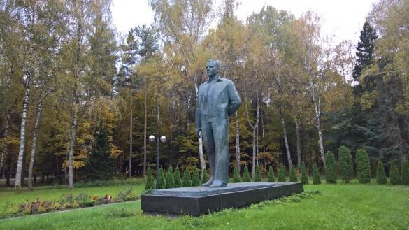 Памятник Гагарину в Звездном городке. Фото: Dni.Ru/Феликс Грозданов