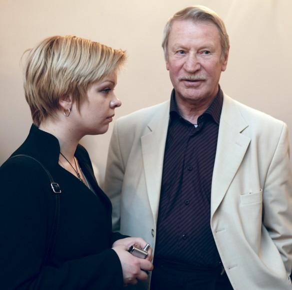 Иван Краско и Наталья Вяль. Фото: GLOBAL LOOK press/Semen Likhodeev
