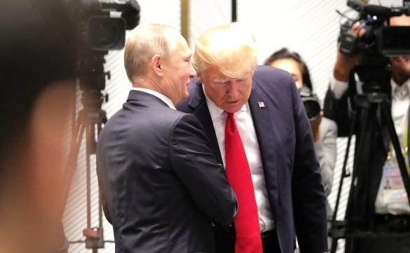 Владимир Путин и Дональд Трамп. Фото: GLOBAL LOOK press/Kremlin Pool