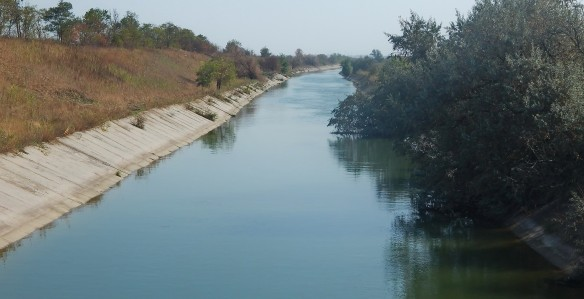 Северо-Крымский канал. Фото: wikipedia.org