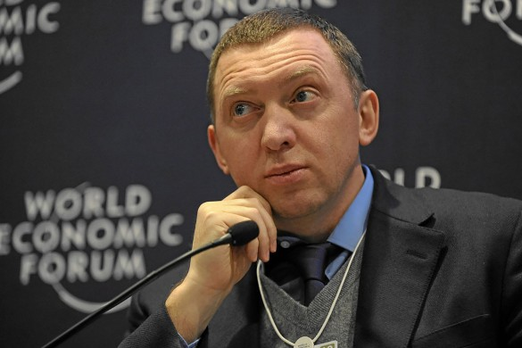 Олег Дерипаска. Фото: commons.wikimedia.org/World Economic Forum – Michael Wuertenberg