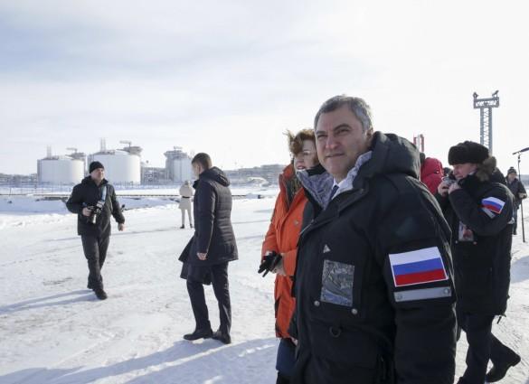 Вячеслав Володин (в центре). Фото: vk.com/duma