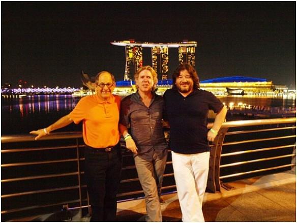 Три легенды – Ralph Simon, Steve Lillywhite and Alexander Shulgin. Фото: из личного архива Александра Шульгина