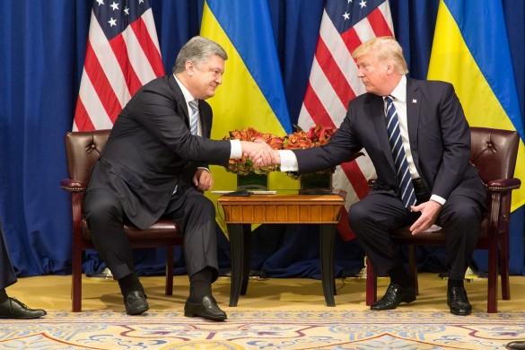 Петр Порошенко и Дональд Трамп. Фото: GLOBAL LOOK press/Shealah Craighead
