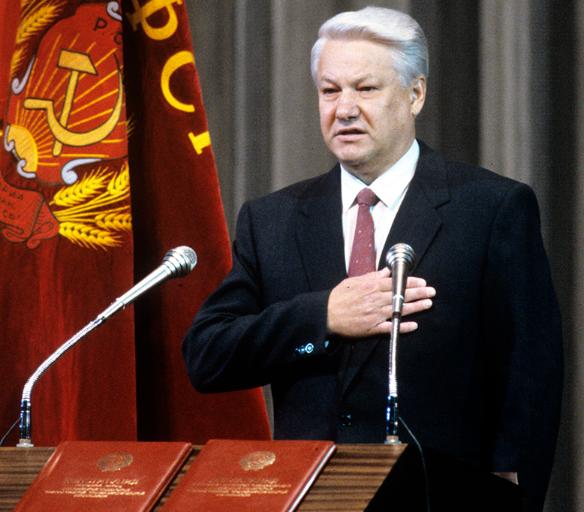 Борис Ельцин. Фото: wikipedia.org/JosepStalin