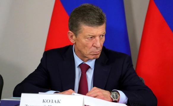 Дмитрий Козак. Фото: GLOBAL LOOK press/Kremlin Pool