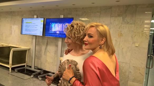 Елена Воробей и Татьяна Буланова. Фото: Феликс Грозданов/Dni.Ru