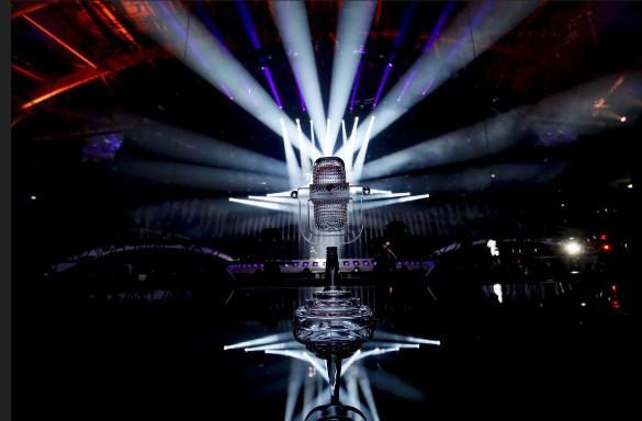 """Хрустальный микрофон – приз """"Евровидения"""". Фото: Eurovision"""