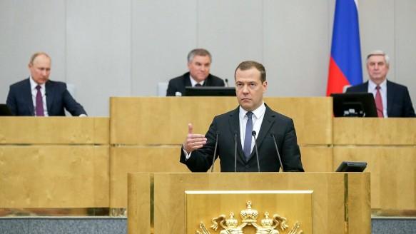 Обсуждение в Госдуме кандидатуры Дмитрия Медведева на пост премьер-министра. Фото: duma.gov.ru