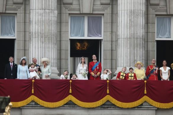 Свадьба принца Уильяма и Кейт Миддлтон. Фото: GLOBAL LOOK press/mm4