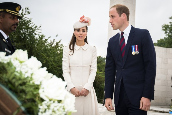Кейт Миддлтон и Герцог Кембриджский. Фото: GLOBAL LOOK press/Laurie Dieffembacq