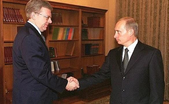 Алексей Кудрин и Владимир Путин. Фото: kremlin.ru
