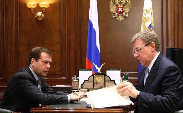 Дмитрий Медведев и Алексей Кудрин. Фото: kremlin.ru