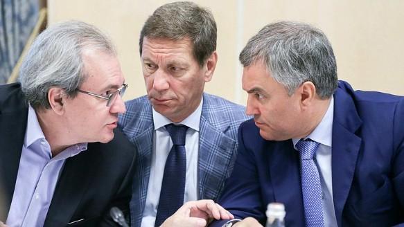 Вячеслав Володин (справа). Фото: duma.gov.ru